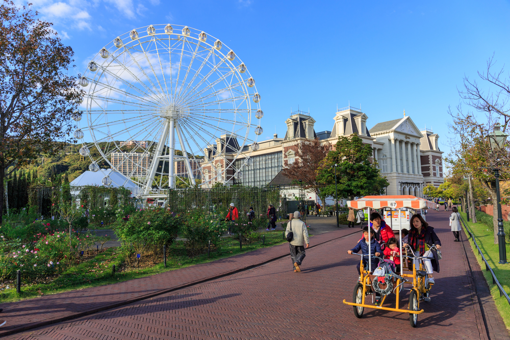 5.Huis Ten Bosch Theme Park
